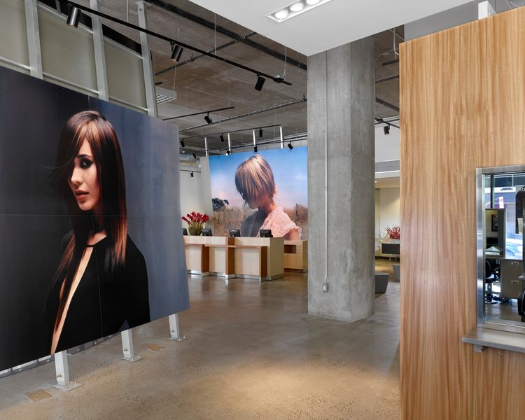 Jean Madeline Aveda Institute entryway