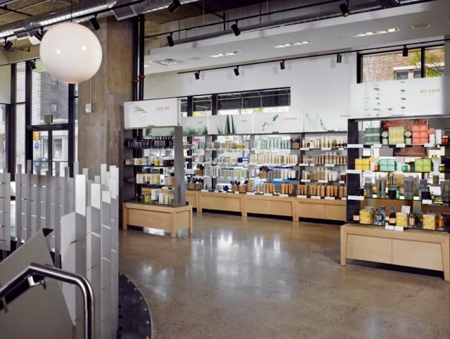 Jean Madeline Aveda Institute salon inside