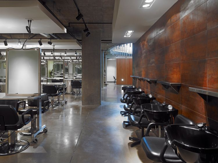 Jean Madeline Aveda Institute waiting area